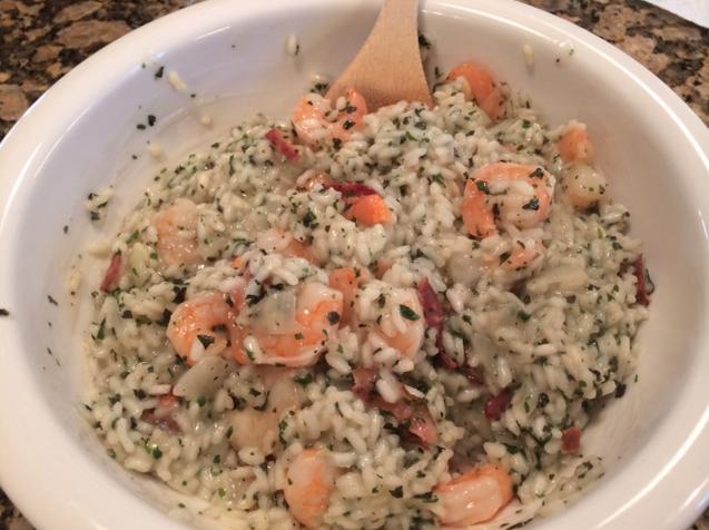 Shrimp Risotto 4